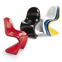 LOT de 4 Chaises Design WAVE